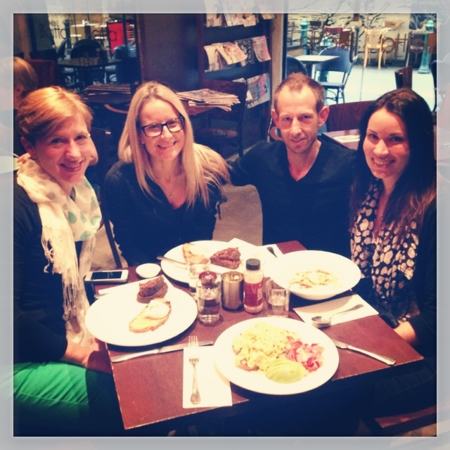 Marathon eating tour of Melbourne: Helen, Kirby, Vlad and Cheryl.
