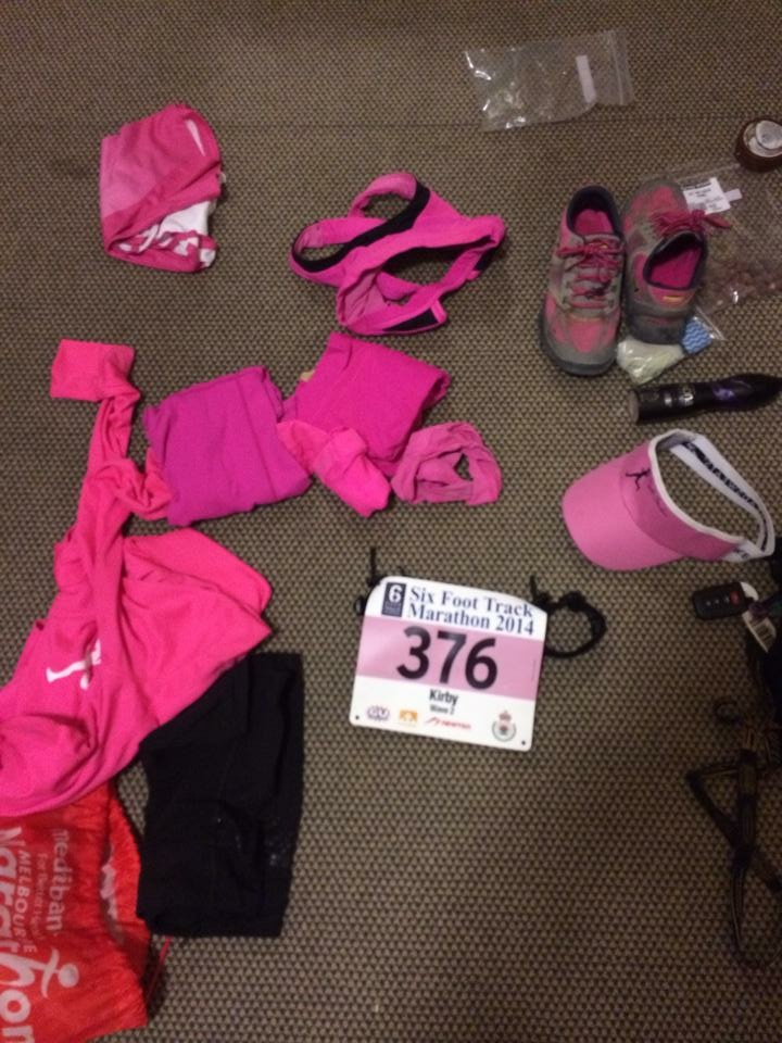 The chaos of getting ready for a race.