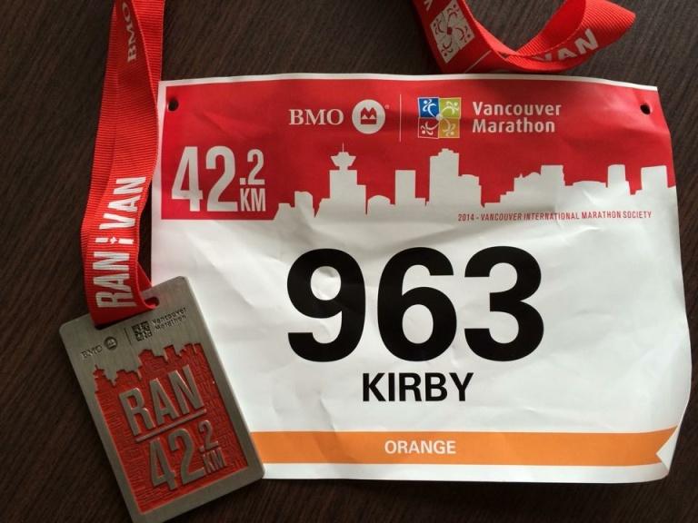 Marathon medal #18!