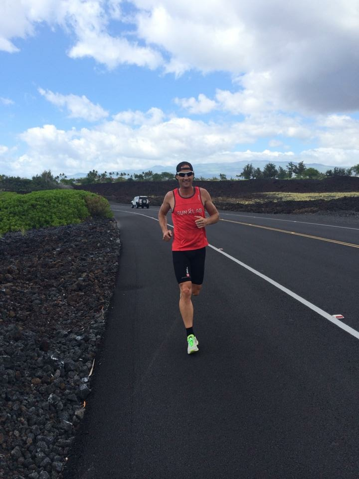 Running through the Lava flats.
