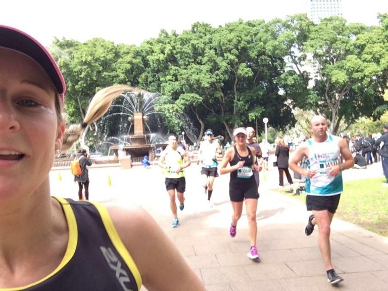 Marathon selfie!