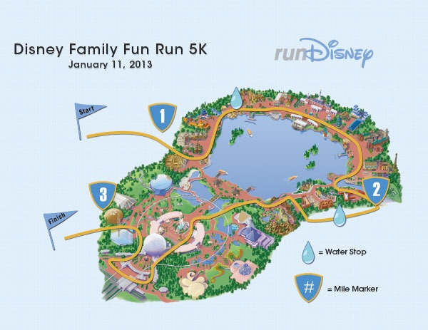 5k course map.