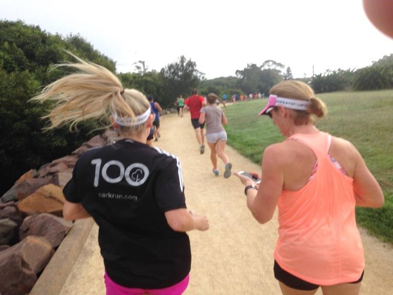 Running with Helen
