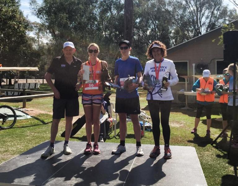 The Women's Marathon Podium
