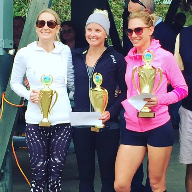 Blonde Trifecta on the podium!